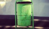 android garbage can litter rubbish trash mobile phone funny pics pictures pic picture image photo images photos lol