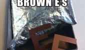 april fools brown e's letters brownies funny pics pictures pic picture image photo images photos lol
