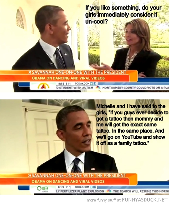 barak obama president usa family tattoo quote funny pics pictures pic picture image photo images photos lol