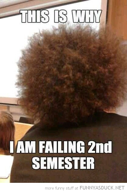 boy afro big hair class school why failing 2nd semester funny pics pictures pic picture image photo images photos lol