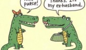 crocodiles comic nice bag my ex husband funny pics pictures pic picture image photo images photos lol