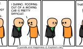 cyanide happiness comic funeral pooping out moving car funny pics pictures pic picture image photo images photos lol