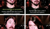 dave grohl foo fighters kids don't care rockstar funny pics pictures pic picture image photo images photos lol