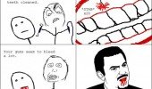 dentist rage comic gums bleeding meme funny pics pictures pic picture image photo images photos lol