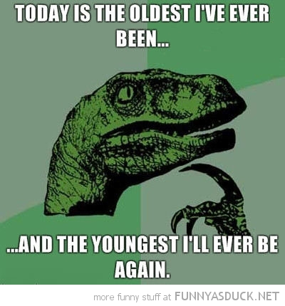 dinosaur philosoraptor meme oldest ever been youngest ever be again funny pics pictures pic picture image photo images photos lol
