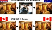 drinking america britain australia canada ireland fightling court funny pics pictures pic picture image photo images photos lol