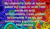 essay write 100 words acid quote funny pics pictures pic picture image photo images photos lol