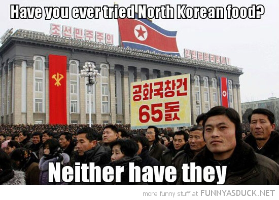 ever tried korean food neither have they north kim jong un funny pics pictures pic picture image photo images photos lol