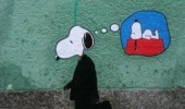 grown up snoopy charlie brown dreaming graffiti funny pics pictures pic picture image photo images photos lol