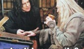 harry potter snape dumbledore omg albus who done nails tv film funny pics pictures pic picture image photo images photos lol