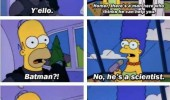 homer simpson tv scene monorail batman scientist funny pics pictures pic picture image photo images photos lol
