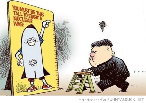 kim jong un north korea this tall start nuclear war funny pics pictures pic picture image photo images photos lol