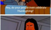 king hill indian man celebrate thanksgiving did once tv funny pics pictures pic picture image photo images photos lol