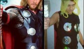 man costume thrift thor avengers funny pics pictures pic picture image photo images photos lol