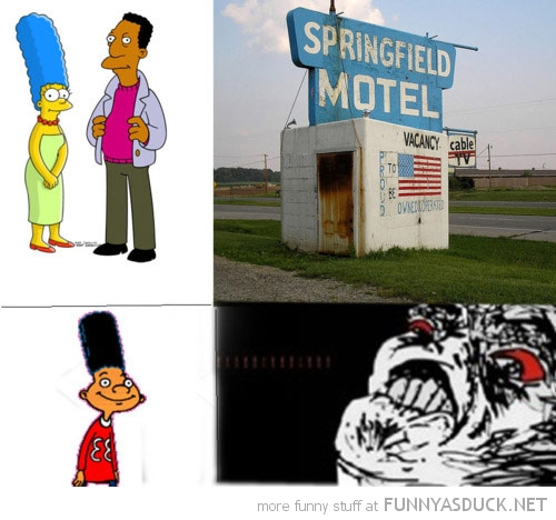 marge simpson carl motel hey arnold gerald kid funny pics pictures pic picture image photo images photos lol