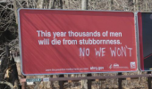 men die stubbornness sign poster no we wont funny pics pictures pic picture image photo images photos lol