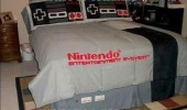 nintendo nes duvet cover bed sheets this where play two players gaming funny pics pictures pic picture image photo images photos lol
