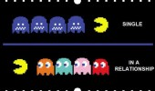 pacman gaming retro single in a relationship funny pics pictures pic picture image photo images photos lol
