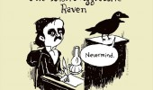passive aggressive raven edgar allan poe never mind funny pics pictures pic picture image photo images photos lol
