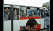 people squashed windows bus .rar funny pics pictures pic picture image photo images photos lol