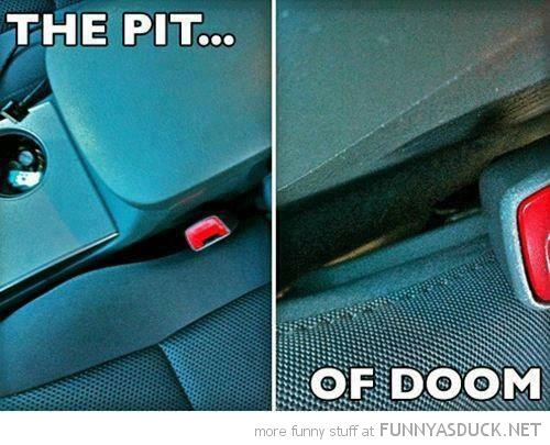pit doom space between car seats funny pics pictures pic picture image photo images photos lol