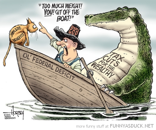 funny-political-comic-cat-alligator-boat
