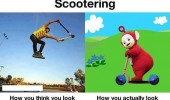 scootering think look like actually teletubbies funny pics pictures pic picture image photo images photos lol