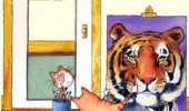 cat lolcat animal painting self portrait tiger funny pics pictures pic picture image photo images photos lol