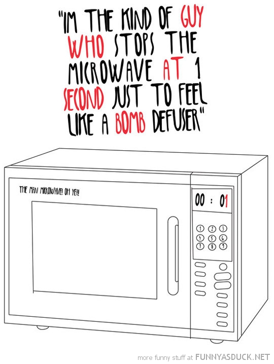 stop microwave one minute to go bomb defuser comic funny pics pictures pic picture image photo images photos lol