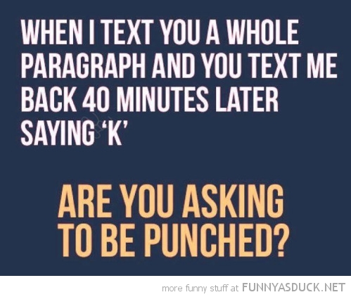 text whole paragraph reply k punch face quote funny pics pictures pic picture image photo images photos lol