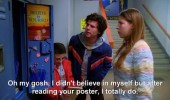 the middle tv scene believe in yourself poster locker funny pics pictures pic picture image photo images photos lol