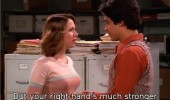 70s show tv right hand stronger sword fighter funny pics pictures pic picture image photo images photos lol