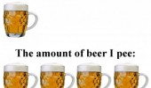 amount beer drink pee funny pics pictures pic picture image photo images photos lol