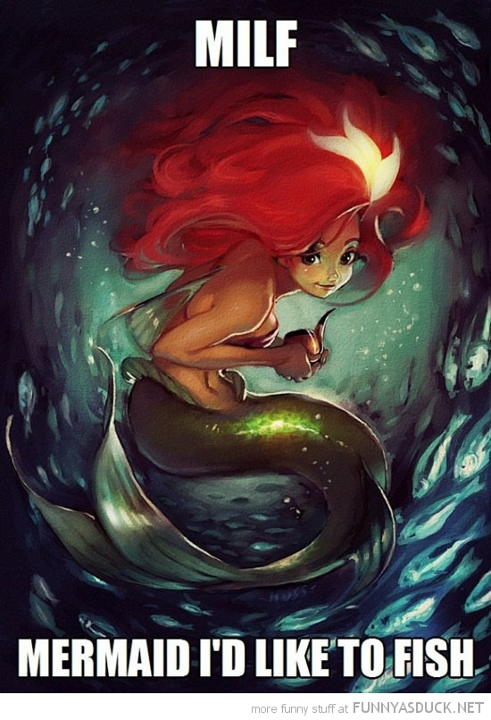 arial milf i'd like to fish little mermaid disney funny pics pictures pic picture image photo images photos lol