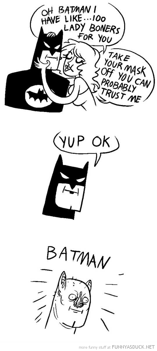 batman take mask off face funny pics pictures pic picture image photo images photos lol