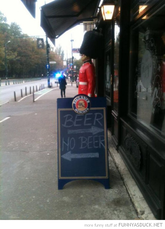beer no arrows pub bar sign funny pics pictures pic picture image ...