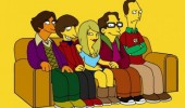 big bang theory cast as simpsons characters tv funny pics pictures pic picture image photo images photos lol