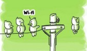 bird sitting wire comic wi-fi funny pics pictures pic picture image photo images photos lol