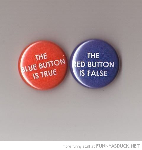 blue button true red false badges funny pics pictures pic picture image photo images photos lol