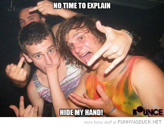 no time to explain hide hand boys mouth funny pics pictures pic picture image photo images photos lol