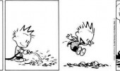 calvin hobbes comic muck dirt couldn't be avoided funny pics pictures pic picture image photo images photos lol