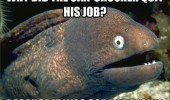 bad joke eel meme can crusher quit job soda pressing funny pics pictures pic picture image photo images photos lol