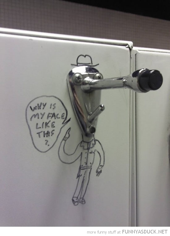 coat hanger man face drawing why like this toilet funny pics pictures pic picture image photo images photos lol