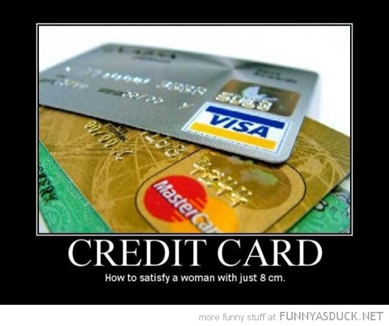 credit card please woman 8cm funny pics pictures pic picture image photo images photos lol