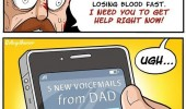 cut both hands off buzzsaw lame dad text me comic funny pics pictures pic picture image photo images photos lol