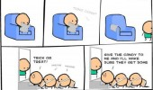 cyanide happiness comic halloween human centipede funny pics pictures pic picture image photo images photos lol