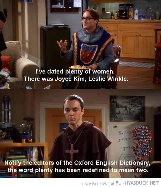 dated plenty woman big bang theory redefined two tv funny pics pictures pic picture image photo images photos lol