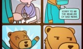 doctor bear son died can't do surgery comic funny pics pictures pic picture image photo images photos lol