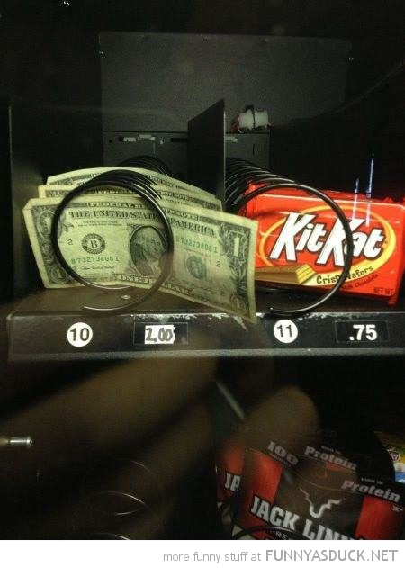 dollar bills vending machine  funny pics pictures pic picture image photo images photos lol