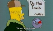 don't touch willie homa er simpson good advice funny pics pictures pic picture image photo images photos lol